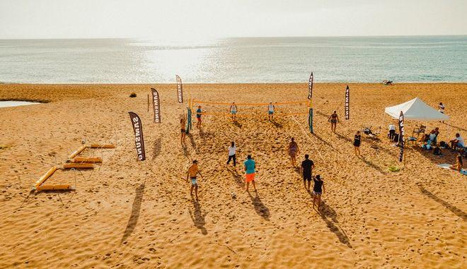 Navarino Challenge Beach Volley Tournament (photo by Mike Tsolis)