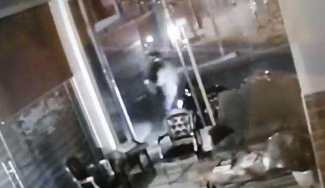 Βίντεο - ντοκουμέντο: Η στιγμή της ανατίναξης ATM στη Θεσσαλονίκη