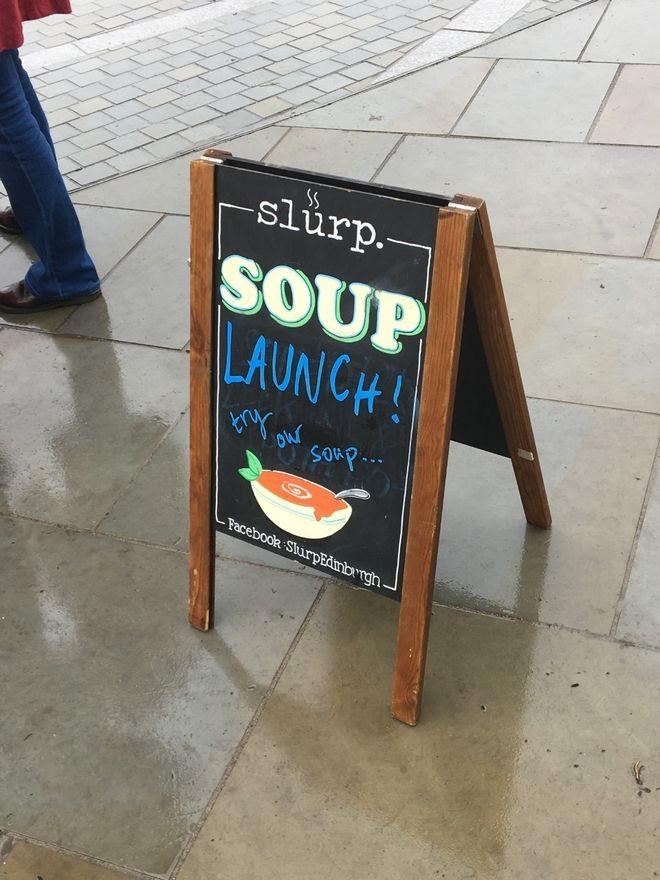 Σπιτική σούπα για τους αστέγους του Εδιμβούργου
