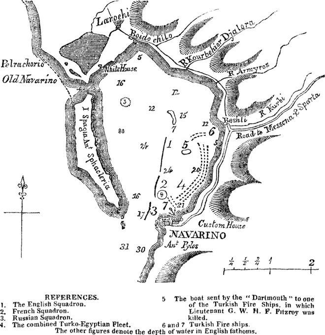 Ναυμαχία Ναυαρίνου, 190 χρόνια μετά: Στον όρμο που καταποντίστηκε ο Σουλτάνος