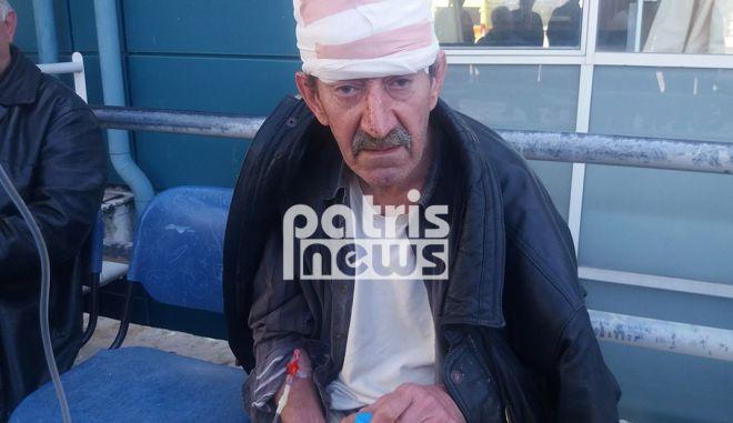 Πύργος: Τραυμάτισαν άνδρα με αξίνα στο κεφάλι