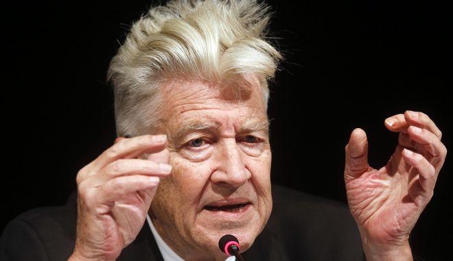 Ο αμερικανός σκηνοθέτης David Lynch