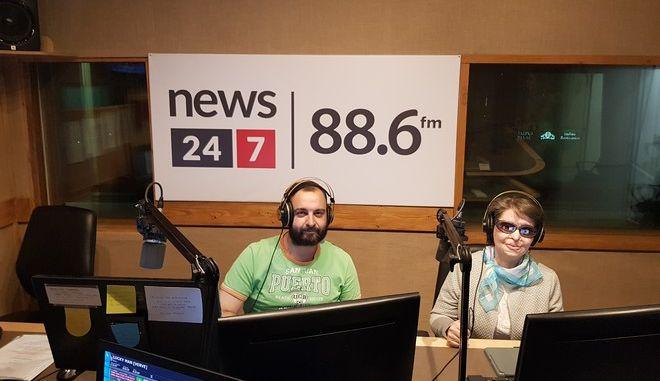 Η Κωνσταντίνα Κούνεβα στο ραδιόφωνο News 24/7 στους 88,6