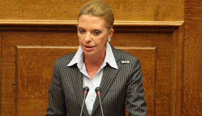 Η υποψήφια ευρωβουλευτής της ΝΔ, Ελίζα Βόζενμπεργκ