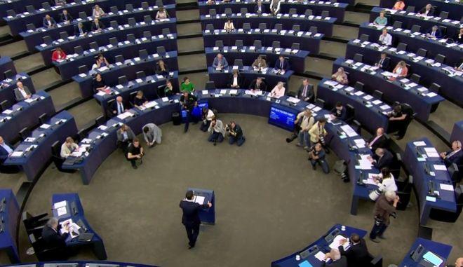 Η ομιλία του πρωθυπουργού στο Ευρωκοινοβούλιο