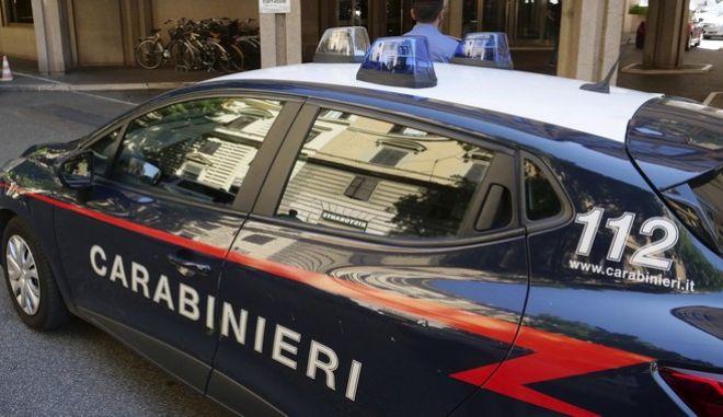 Όχημα της ιταλικής αστυνομίας στη Ρώμη