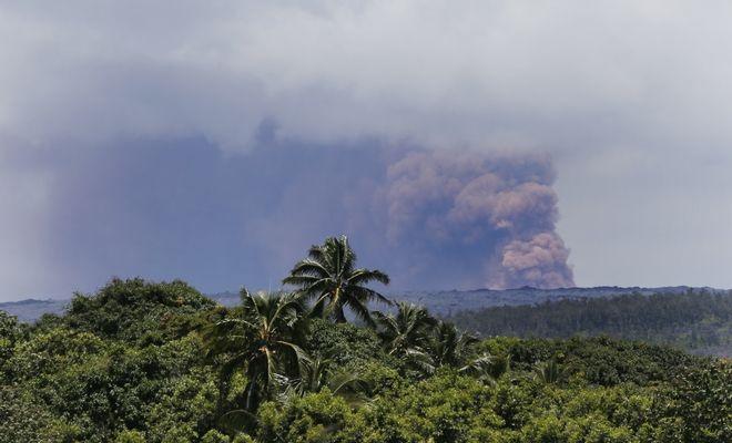 Το ηφαίστειο Κιλαουέα, στη Χαβάη