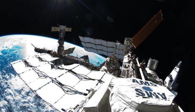 Εικόνα από τον Διεθνή Διαστημικό Σταθμό