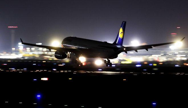 Αεροσκάφος σε αεροδρόμιο της Γερμανίας (ΦΩΤΟ Αρχείου)