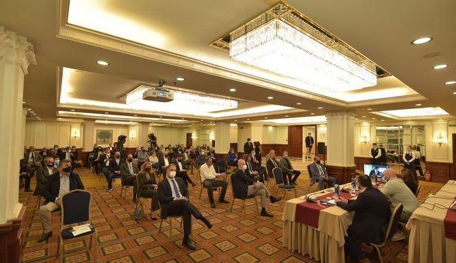 Εικόνα από την συνέλευση της ΠΟΞ