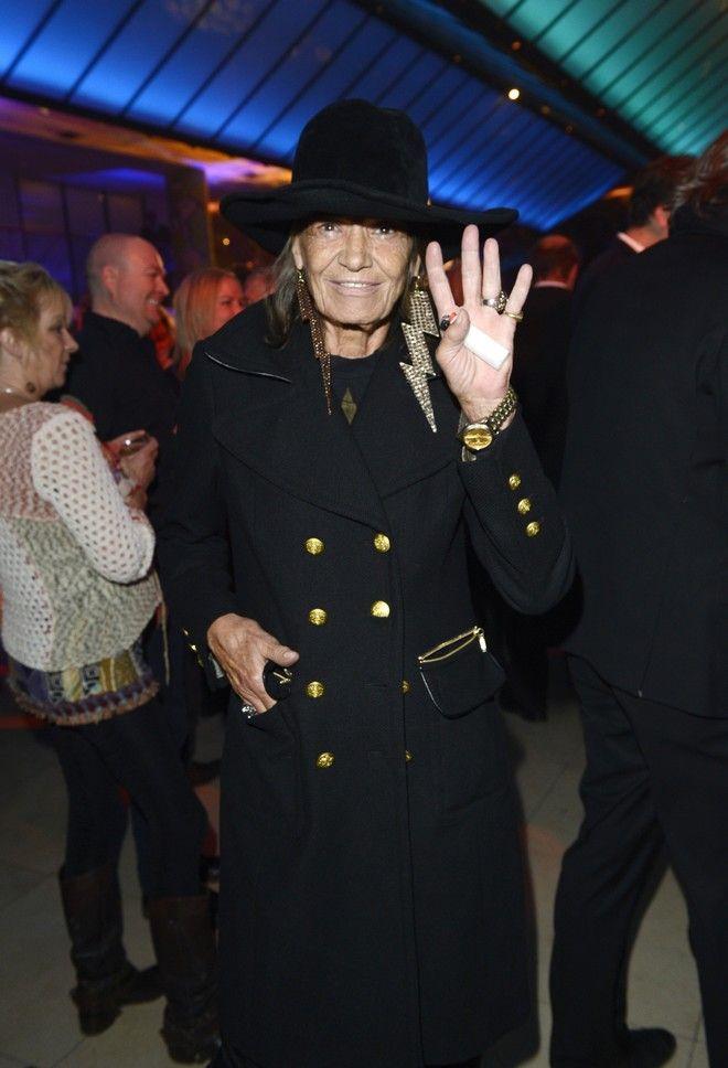 Πέθανε η μούσα των Rolling Stones, ηθοποιός και μοντέλο Ανίτα Πάλενμπεργκ