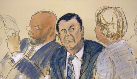 Ο Ελ Τσάπο στο δικαστήριο