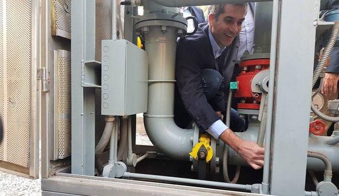Περιφέρεια Στερεάς Ελλάδας: Ξεκίνησε η πιλοτική παροχή φυσικού αερίου