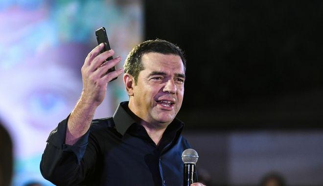 Ομιλία του προέδρου του ΣΥΡΙΖΑ Αλέξη Τσίπρα στην Πάτρα