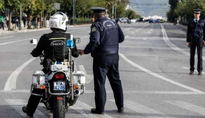 Αστυνομία στους δρόμους (φωτογραφία αρχείου)