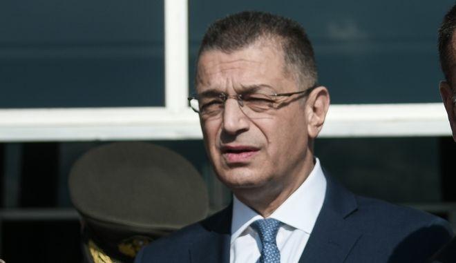 Ο υφυπουργός Εθνικής Άμυνας.