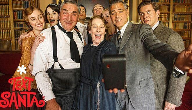 Το ιστορικό selfie του «Downton Abbey»