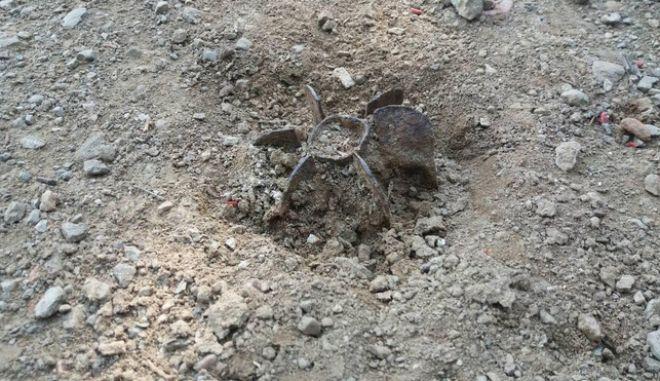 Βρήκαν βλήμα όλμου στο Λόφο Φιλοπάππου