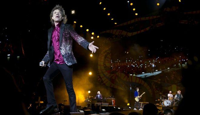 O Mick Jagger σε συναυλία των Rolling Stones στην Αβάνα