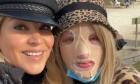 Η Αννίτα Ναθαναήλ με την Ιωάννα Παλιοσπύρου