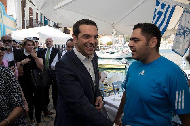 Ο πρωθυπουργός, Αλέξης Τσίπρας επισκέφθηκε το Καστελόριζο