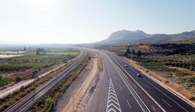 Ολυμπία Οδός το τμήμα από την Κόρινθο μέχρι το Κιάτο