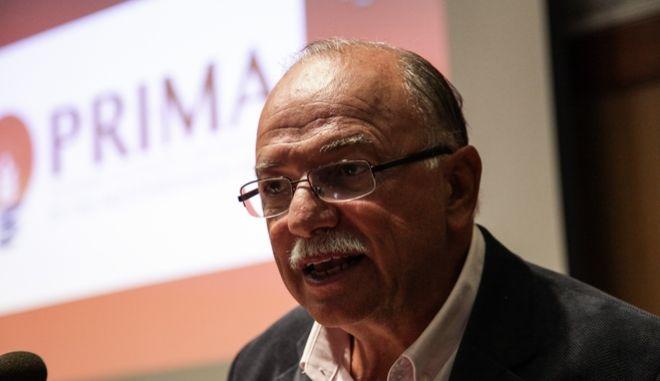 O ευρωβουλευτής του ΣΥΡΙΖΑ και αντιπρόεδρος του Ευρωκοινοβουλίου, Δημήτρης Παπαδημούλης