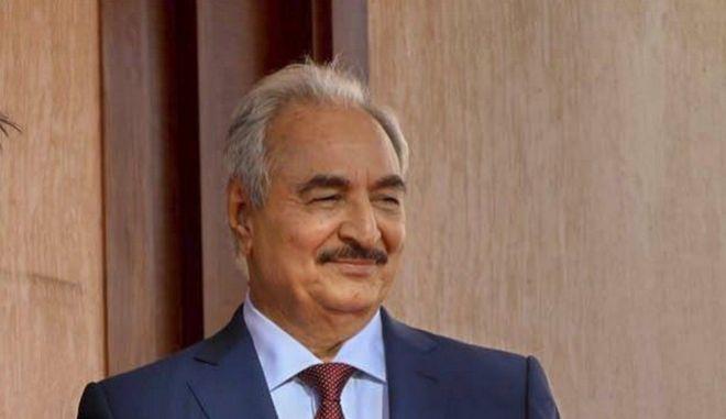 Ο στρατηγός Χαλίφα Χαφτάρ