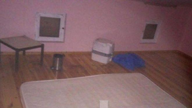 Οι πρώτες εικόνες από τη σοφίτα - 'φυλακή' του Λεμπιδάκη