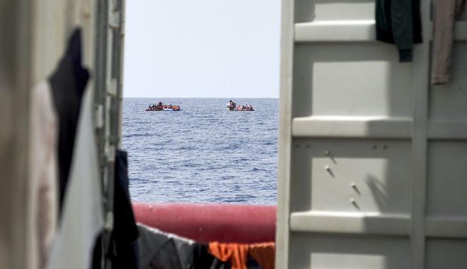 Επιχείρηση διάσωσης στη Μεσόγειο