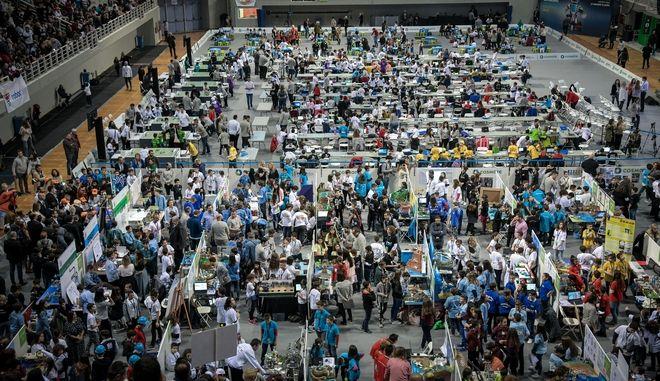 Πανελλήνιος και Βαλκανικός  Διαγωνισμός Εκπαιδευτικής Ρομποτικής
