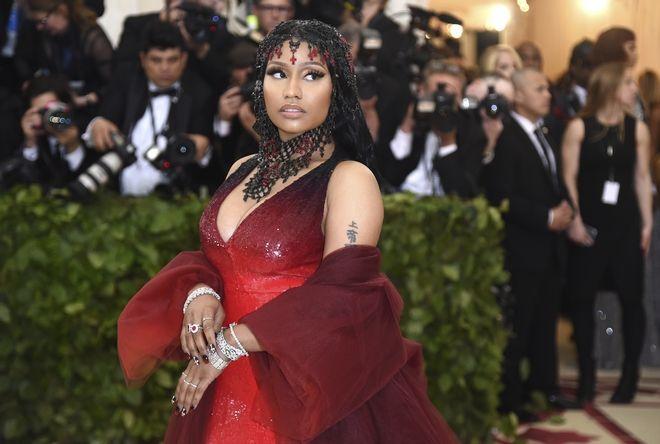 Η Nicki Minaj σε gala του MET