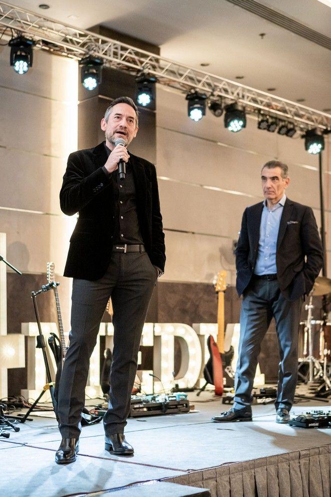 Aπό αριστερά: Δημήτρης Μάρης, Νικόλας Πεφάνης