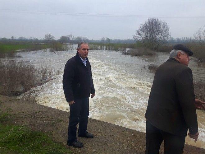 Έβρος: Ελεγχόμενη πλημμύρα εξαιτίας της ανόδου της στάθμης του ποταμού
