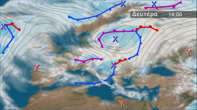 Αλλάζει ο καιρός: Έρχονται βροχές, καταιγίδες και πτώση της θερμοκρασίας