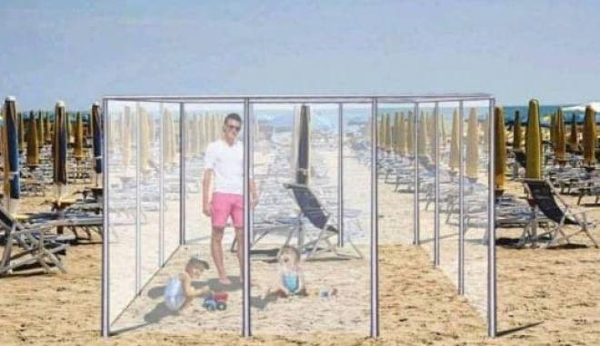 Ιταλία: Προστατευτικά μέτρα για το καλοκαίρι - Πλέξιγκλας γύρω από κάθε λουόμενο