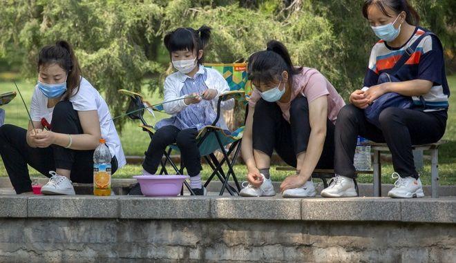 Οι κάτοικοι της Κίνας σε διακοπές