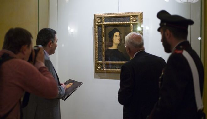 Αυτο-πορτρέτο του ζωγράφου Ραφαήλ