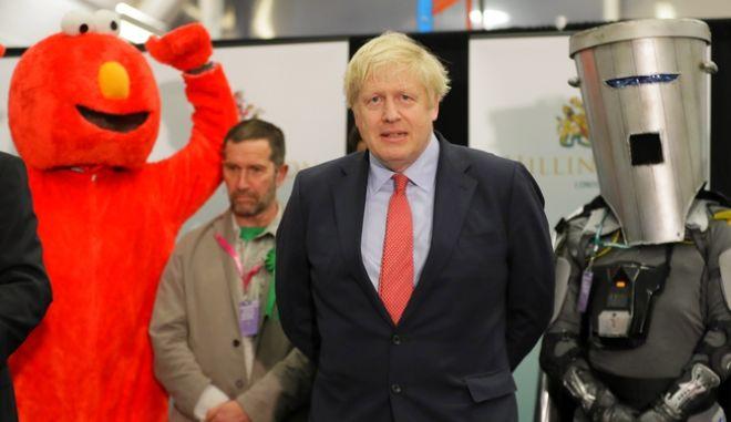 Ο πρωθυπουργός της Μεγάλης Βρετανίας Μπόρις Τζόνσον