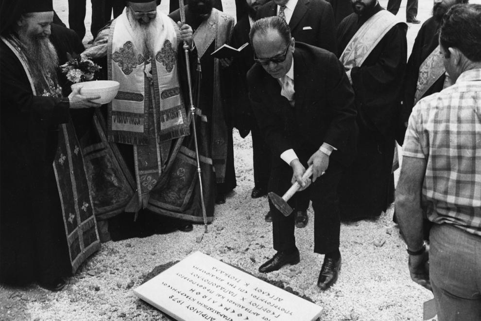 O Γεώργιος Παπαδόπουλος το 1972
