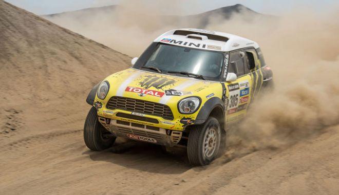 Το MINI στο Rally Dakar του 2014 με το ΑLL4 Racing.