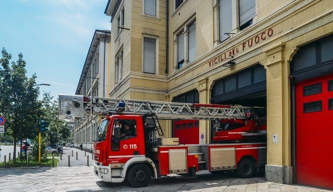 Ιταλία, όχημα Πυροσβεστικής, Αρχείο