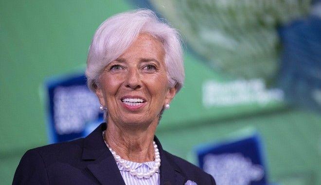 Η επικεφαλής της ΕΚΤ, Κριστίν Λαγκάρντ