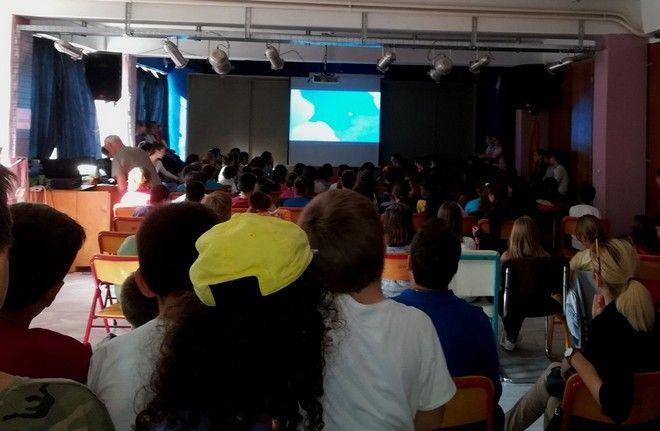 Η Nova γεμίζει με χρώμα και χαμόγελα το Δημοτικό Σχολείο Αγίας Μαρίνας στο Μάτι