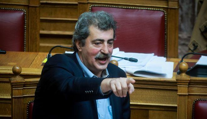Ο Παύλος Πολάκης, στη Βουλή