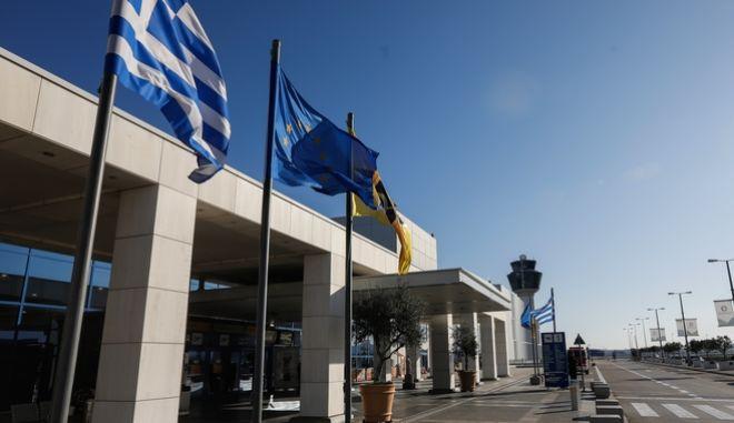 """Κίνηση στον Διεθνή Αερολιμένα Αθηνών """"Ελ. Βενιζέλος"""""""
