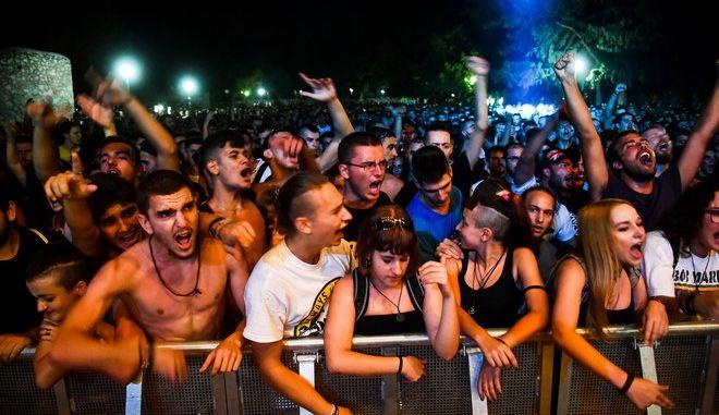 Στιγμιότυπο από την συναυλία