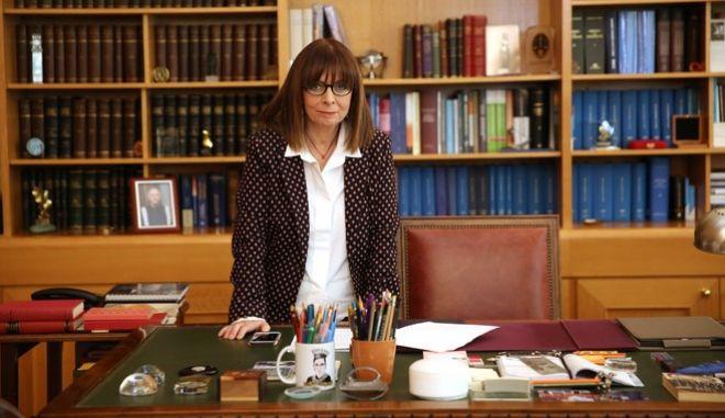 Η νέα πρόεδρος της Βουλής Αικατερίνη Σακελλαροπούλου
