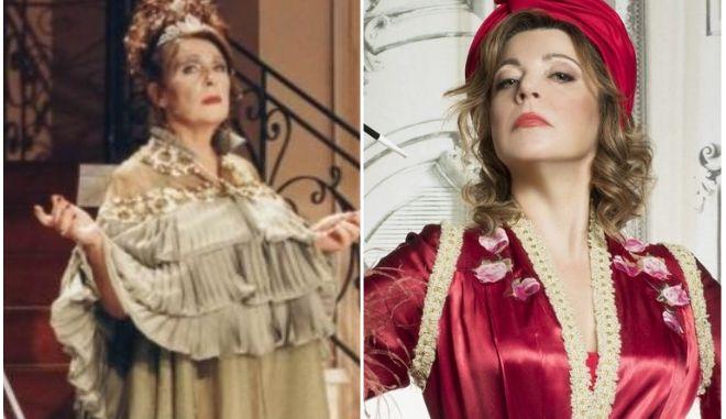 Άννα Παναγιωτοπούλου και Δήμητρα Παπαδοπούλου στο ρόλο της Μαντάμ Σουσού