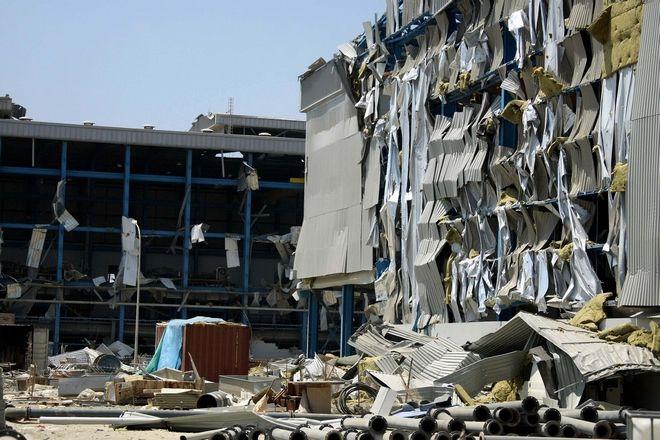 Ηλεκτροπαραγωγός Σταθμός Βασιλικού. Ο Ηλεκτροπαραγωγός Σταθμός Βασιλικού, μετά την έκρηξη στη Ναυτική Βάση «Ευάγγελος Φλωράκης».